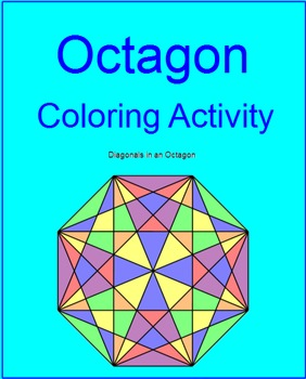 Coloring Activity - Octagon TEMPLATE (FREEBIE, Thank you 200 followers!)