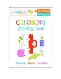 Coloring Activity Workbook