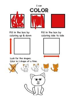 Coloring Assessment for Art Teachers. Elementary Art Coloring Benchmark