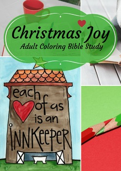 EBook: Coloring Bible Study: Christmas Joy