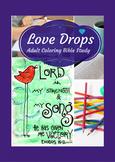 Devotional Coloring Bible Study: Love Drops
