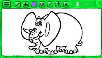 Coloring Book | 20 Animals - Volume 1 | Windows App