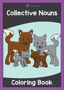 Coloring Book - Collective Nouns