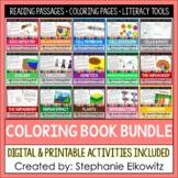 Life Science Biology Coloring & Reading Passages Bundle | Printable & Digital
