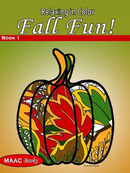 Coloring Book Fall Fun for Adults