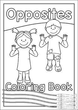 Coloring Book – Opposites/Antonyms
