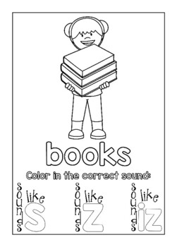 Coloring Book – Plural Sounds