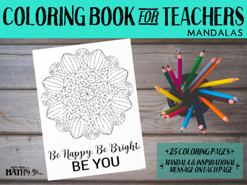 Coloring Book for Teachers: Mandalas