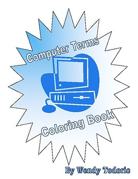 Coloring Book of Computer Related Terminology!