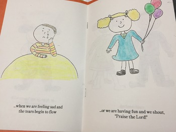 Coloring Book on Prayer