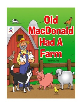 Coloring Booklet of Old Mac Donald had a farm