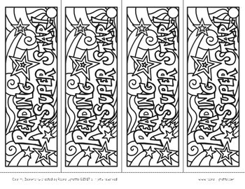 photo about Free Printable Bookmarks to Color Pdf identified as Reading through Bookmarks in the direction of Shade - Totally free!