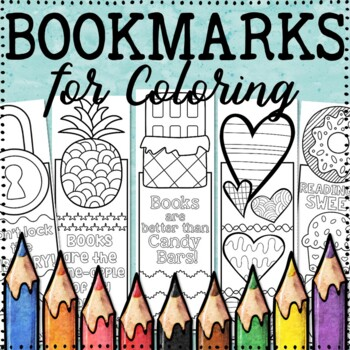 Bookmarks to Color | 20 Fun, Creative Designs