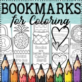 Bookmarks to Color   Coloring Bookmarks   20 Fun, Creative Designs