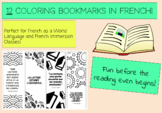 Coloring Bookmarks in French