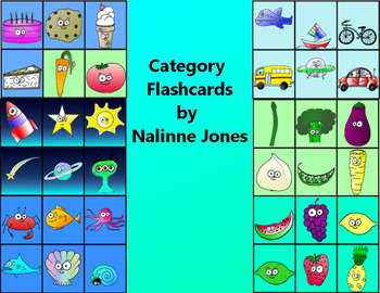 Categories - Flashcards - Vocabulary