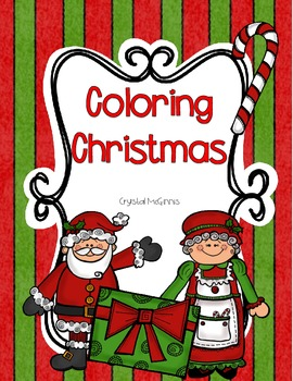 Coloring Christmas Freebie