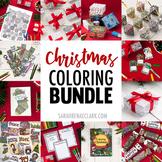 Christmas Coloring Bundle | 100+ pages of printable Christ