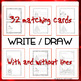 Coloring Christmas cards + matching envelopes