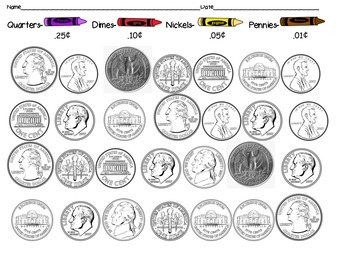 Coloring Coins