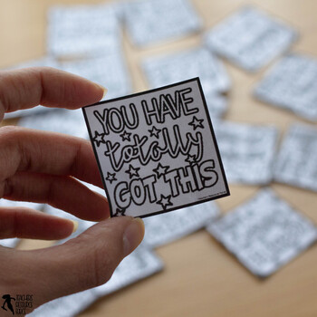 Coloring Compliment Notes   Whole School Kindness Project