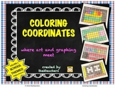 Coordinate Graphing - Coloring Coordinates - Where Art and