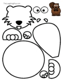 Coloring & Cutouts - Beaver