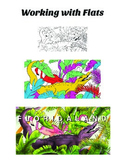 Coloring Drawings in Photoshop