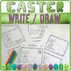 Coloring Easter cards - ✀ Cut, color, glue, draw or write ! - Craftivity