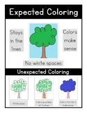 Coloring (Expected & Unexpected)