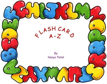 Coloring Flashcard Ato Z