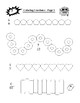 Coloring Fractions Introduction PLUS Fractions Word Search Puzzle (Both Items)