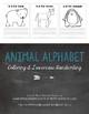 Coloring & Handwriting BUNDLE {Animal Alphabet}