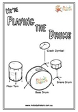Coloring In Drums