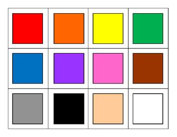 Coloring Matching Game