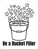 {Coloring Page} - 'Be a Bucket Filler'   Mindfulness & Yoga