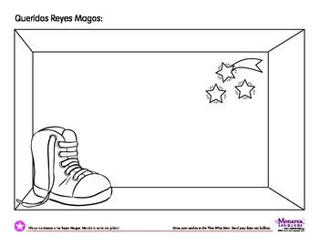 Coloring Page: Dia de reyes