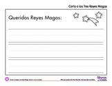 Coloring Page: Dia de reyes / Carta a los Tres Reyes Magos