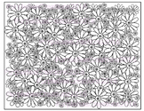 Flower Coloring Page #1