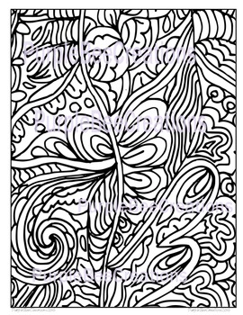 Coloring Page-Fun Doodle Coloring Page #2
