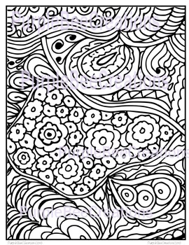 Coloring Page-Fun Doodle Coloring Page #3