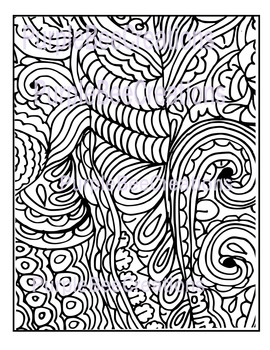 Coloring Page-Fun Doodle Coloring Page #4