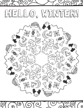 Coloring Page GROWING Bundle!
