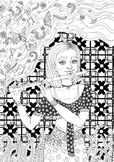 Coloring Page- Magical Flute