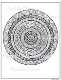 Coloring Page Mandala Coloring Page 4