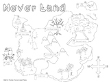 Coloring Page - Neverland