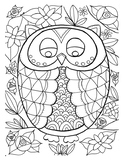 Coloring Page - Owl