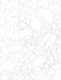 Coloring Page- Single