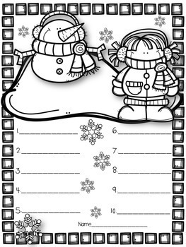 Coloring Page Spelling Tests