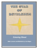 "Christmas coloring sheet - ""Star of Bethlehem""  - Print and Go!"